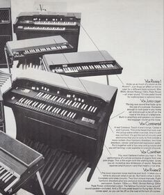 The Riviera, Vox's answer to the Hammond B-3