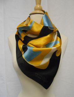 Jaques Piaget Bold Geometric Camo Print Silk by MilesChandler, $19.00