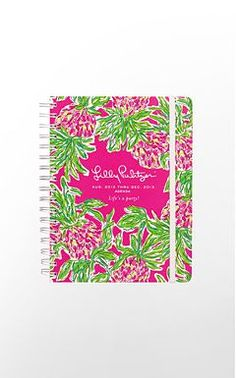 Lilly Pulitzer - Agendas Jumbo $34.00 Monthly Planner $18.00 Large $28.00 Small $17.00