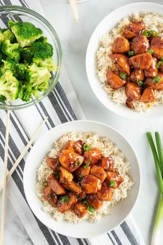 Bourbon Chicken Easy Restaurant, Restaurant Recipes, Dinner Recipes, Easy Thanksgiving Recipes, Thanksgiving Side Dishes, Sauce For Chicken, Chicken Recipes, Chicken Meals, Authentic Chinese Recipes