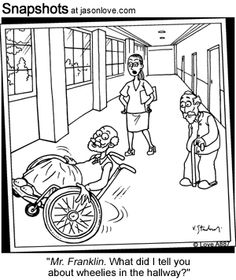 Cartoon Humor Occupational Therapy