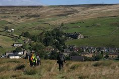 Walk the Weardale Way (This pic from North Pennines AONB - Heading down to Rookhope on the Weardale Way)