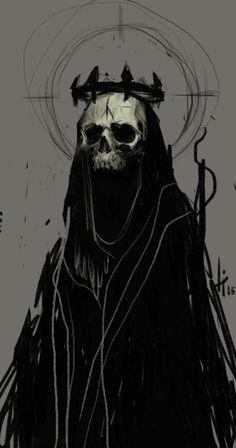 save -- by anti-pizza on DeviantArt<br> Demon Art, Fantasy Kunst, Dark Fantasy Art, Monster Art, Arte Horror, Horror Art, Satanic Art, Arte Obscura, Dark Art Drawings