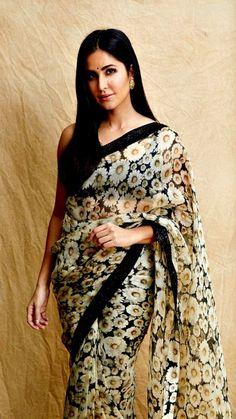 Fashion is like food; you shouldn't stick to the same menu. #clothing #fashion #style #streetwear #clothes #art #brand #fashionblogger #model #streetstyle #instagood #design #outfit #clothingline #fashionista #designer #outfitoftheday Katrina Kaif Bikini Photo, Katrina Kaif Hot Pics, Indian Look, Dress Indian Style, Trendy Sarees, Stylish Sarees, Indian Attire, Indian Outfits, Prom Girl Dresses