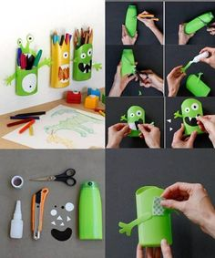 cosas recicladas con carton - Buscar con Google