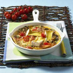 Unser beliebtes Rezept für Tomaten-Omelett mit Camembert und mehr als 55.000 weitere kostenlose Rezepte auf LECKER.de.