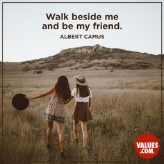 Make sure your friends know that you've got their back through good times and bad. #friendship #passiton