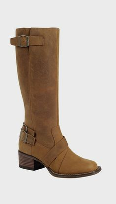 Camel Charlotte Engineer Leather Boot