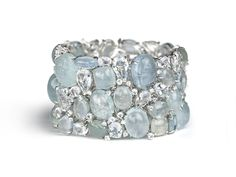 Something blue - Aquamarine Bracelet from Moira Fine Jewellery