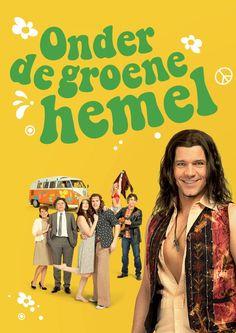 Onder de Groene Hemel - Bos theaterproducties - za 11 april 2015 - Rene van Kooten Sophie Veldhuizen Thomas Cammaert Annemieke Ruyten Hanneke Last Jan Elbertse - Het verhaal van een jongen die zijn toekomstige ouders, een hippie en een studente bij elkaar probeert te brengen. Een goede cast en de muziek van Boudewijn de Groot en Lennaert Nijgh zijn goed. Waarom de jongen dit nou moet doen is niet duidelijk?