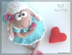 sheep tutorial crochet. cutest - translate from Russian easily