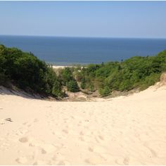 Dunes in Muskegon, Michigan - Another hockey trip - Playoffs with Carina and Kayli; another year with Trent and Jon.