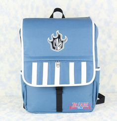 Bleach Kurosaki Ichigo  waterproof canvas backpack