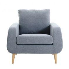 fauteuil coloris gris clair