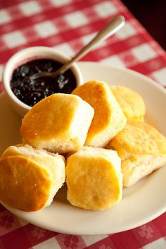 Loveless Cafe biscuits.  No other biscuits will do.