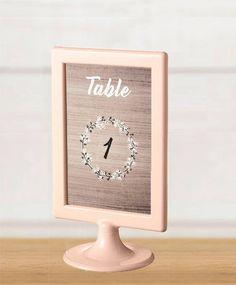 Instant download - numéros de table - décoration mariage