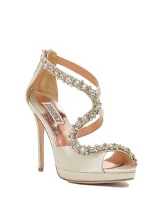 Flair Ankle Strap Peep Toe High Heel