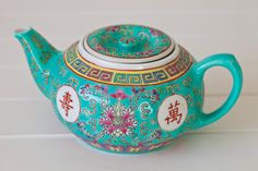#girlosophy Chinese Tea Pot – Minty Green
