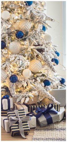 Colorful Christmas Tree, Christmas Tree Themes, Elegant Christmas, Christmas Love, Christmas Colors, Rustic Christmas, Beautiful Christmas, Winter Christmas, Christmas Crafts