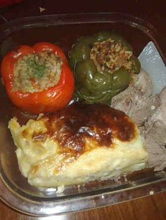 Stuffed Bell Peppers (Capsicum)