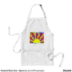 Stained Glass Sun - Apron