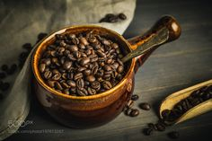 Roasted Coffee Beans by xplor-creativity
