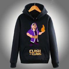COC Clash of Clans hoodie Wizard XXXL hoodies long sleeve