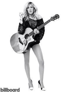 Ellie Goulding photographed by Charlie Gray.Year in Review: Billboard Photography of 2014