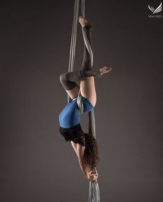 Aerial silks photo by Nina Reed Photography