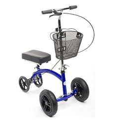 KneeRover Hybrid Knee Walker - All New Featuring KneeCycle Knee Scooter with All Terrain Front Axle Upgrade Top 14, Knee Scooter, Fitness Video, Look Good Feel Good, Buyers Guide, Workout, Tricycle, Scooters, Amazon Website