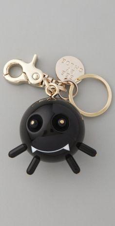 See By Chloé Pumpkin Man Keychain in Black - Lyst