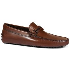 TOD'S Gommino Driving Shoes In Leather. #tods #shoes #gommino driving shoes  in