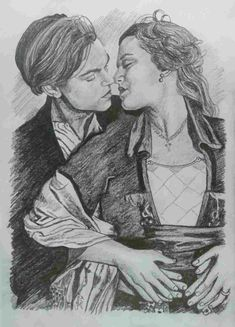 Titanic Pencil Drawing is probably the easiest and efficient arts, which you can acquire as a go time as well as complete time pastime or career. Pencil Art Drawings, Realistic Drawings, Art Drawings Sketches, Disney Drawings, Titanic Drawing, Titanic Art, Jack Sparrow Drawing, Portrait Au Crayon, Romantic Drawing