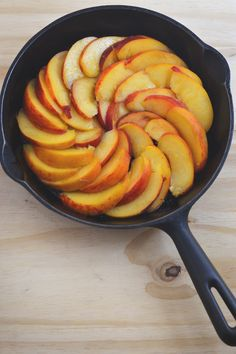 Peaches for the Upside Down Cake   The Earthen Table