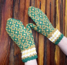 Items similar to knitted wool latvian mittens, knit colorful ethnic nordic mitts, striped fire isle adult winter gloves khaky green arm warmers made to order on Etsy Knit Mittens, Green Wool, Arm Warmers, Hand Knitting, Ethnic, Gloves, Arms, Colorful, Colours