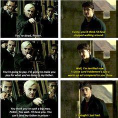 Harry got that sass