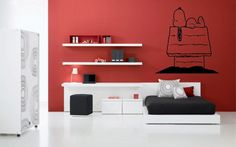 SNOOPY  Wall Sticker by ZONEdesigns on Etsy