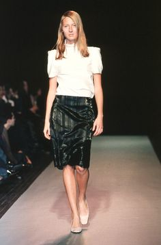 Martine Sitbon - Spring / Summer 1999 | Maggie Rizer