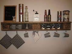 Küchenregal aus europaletten  Küchenregal aus Europaletten // kitchen shelf by Palettano via ...