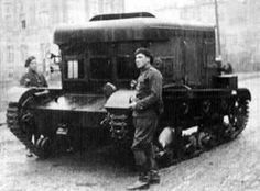 """The Ci?gnik Siedmiotonowy Polski (""""7-ton Polish Tractor""""), or C7P, artillery tractors were designed by Witold Jakusz of the firm Panstwowe Zaklady Inzynieryjne between 1931 and 1934. The first two prototypes were built in the Ursus factory with the designation of C6P. In 1934, an order was issued by the Polish Army for 360 tractors. They were appreciatedby the Polish Army for their durability,cheap price tag, and the fact that they share many parts with the 7TP tanks developed around the…"""