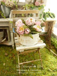 *♥ Atelier de Léa - Un Jour à la Campagne ♥*: Pivoines et Hortensias