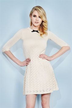 La Belle Heroine knit dress - Wheels & Dollbaby