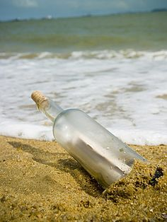 Message in a bottle love this story!!!