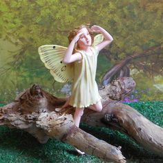 Elder Fairy Figurine – Enchanted Gardens