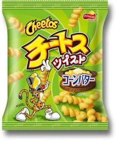 Frito-Lay Cheetos Twist ~ Corn Butter Flavor