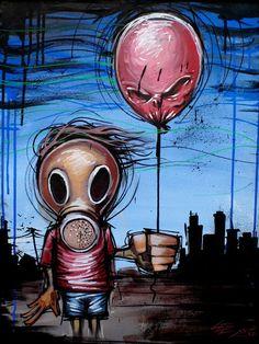 'Toxic Kid' von Basic Lee bei artflakes.com als Poster oder Kunstdruck $16.63