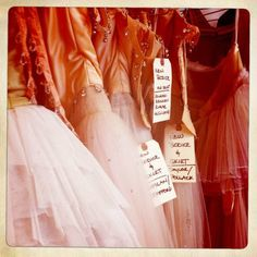 A behind-the-scenes peek of the New York City Ballet's costume shop.