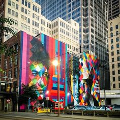 """#throwbackthursday to when i was in #minneapolis earlier this year. this 2015 mural of #bobdylan by @kobrastreetart is a fitting tribute to the now-Nobel Laureate #poet! """"the times they are a-changin'"""" indeed! #art #artist #streetart #publicart #mural #colorful #minnesota #travel #nofilter"""
