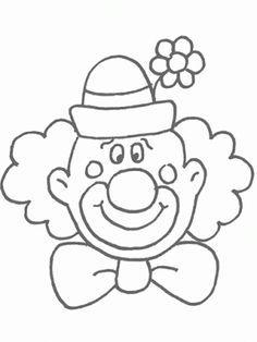 10 Mejores Imágenes De Moldes Payasos Clown Party Circus Birthday