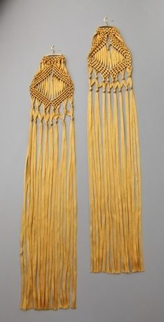 Tribune Standard Macrame Earrings - StyleSays